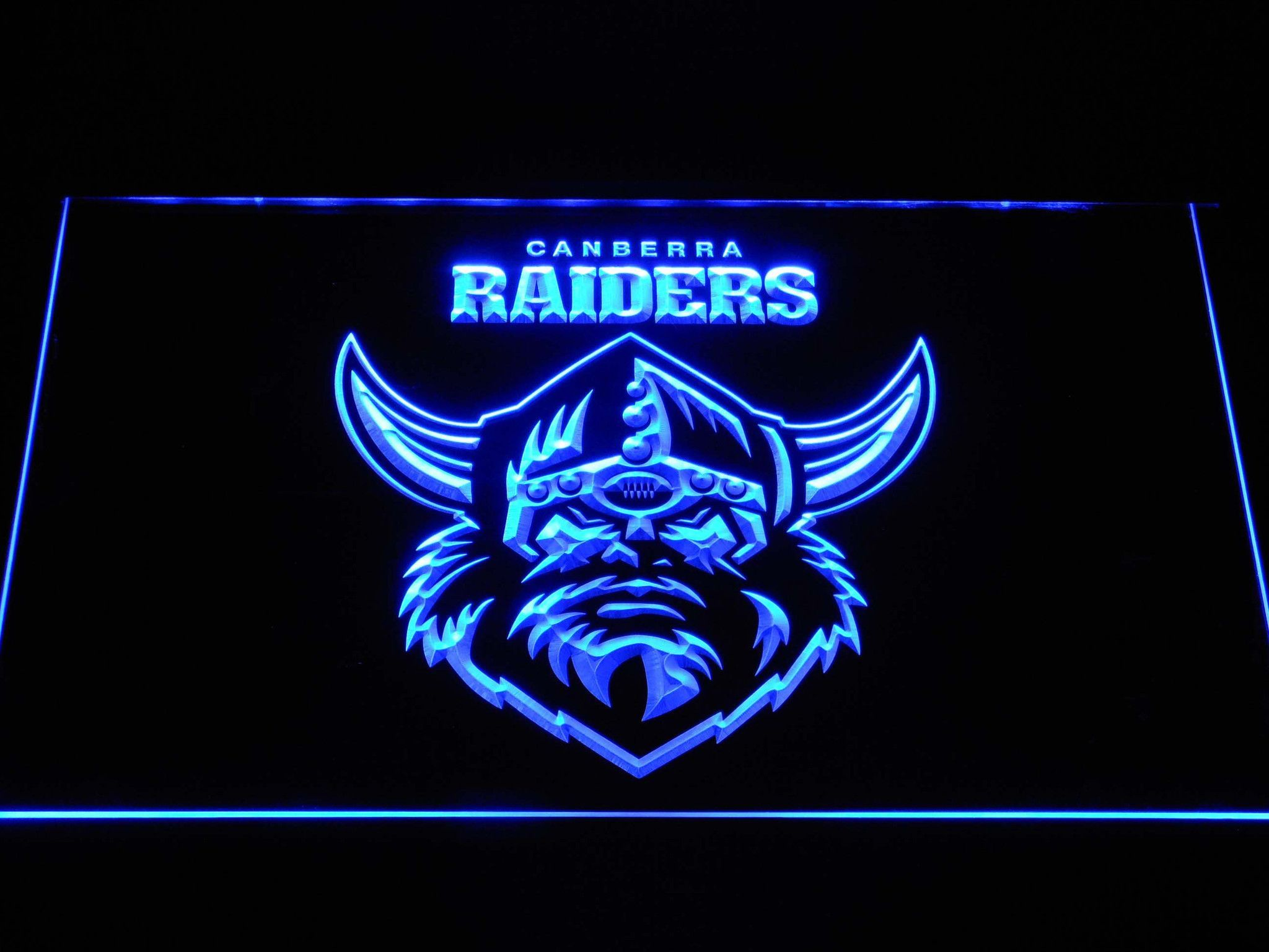 Canberra Raiders LED Neon Sign | Led neon signs, Neon