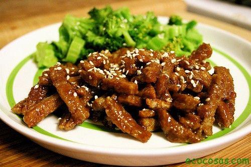 Como Cocinar Seitan | El Seitan Es El Gluten Del Trigo Asi Que Los Celiacos No Pueden