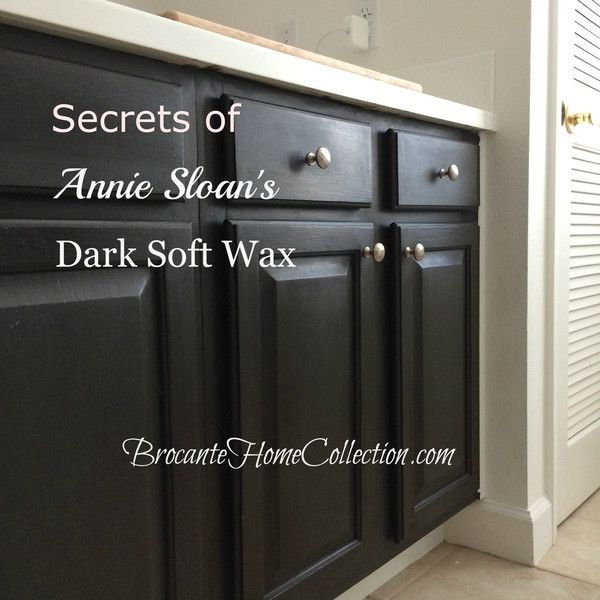 Learn the Secrets of Annie Sloans Dark Soft Wax from