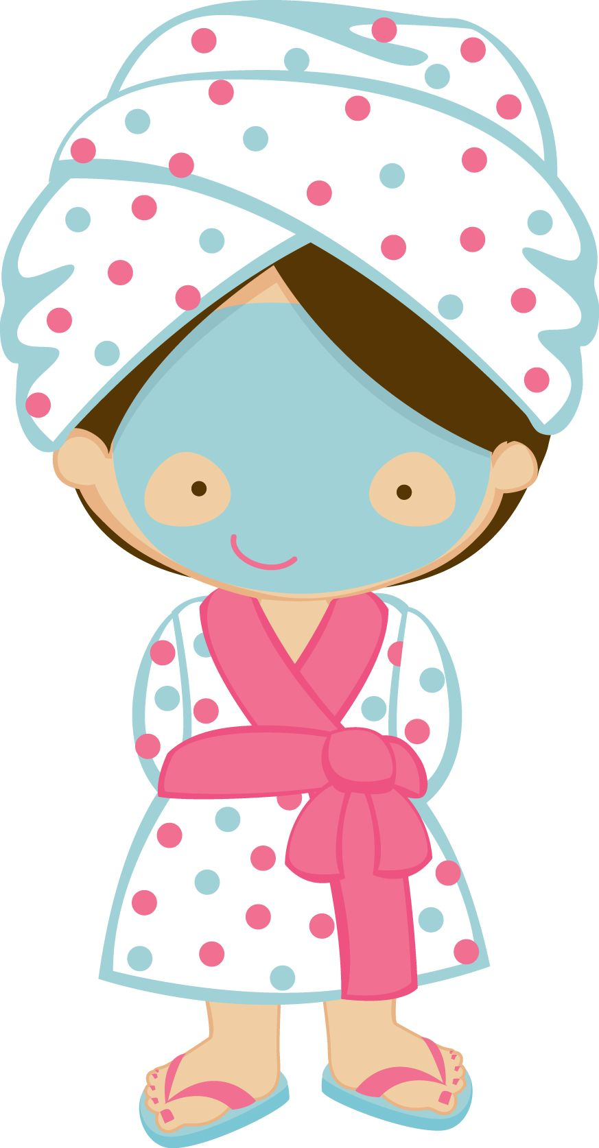 festa do pijama e spa zwd spagirl 1 jpg minus tag pinterest rh pinterest com spa party clipart free