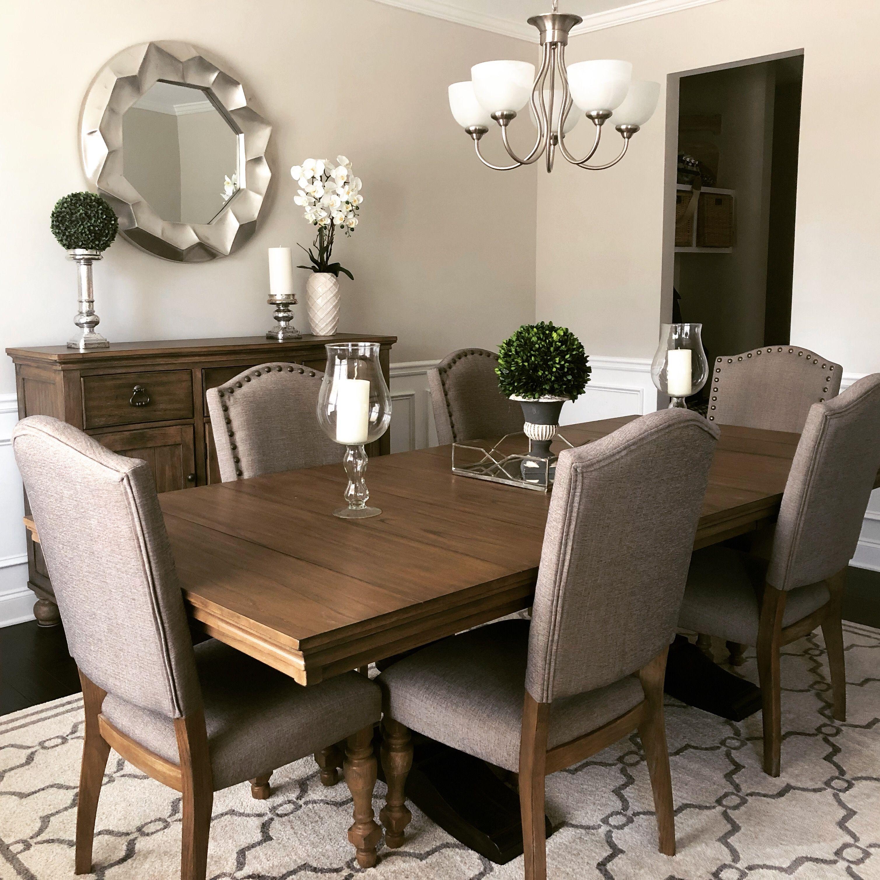 Modern Farmhouse Dining Room Decor Ashley Furniture Table