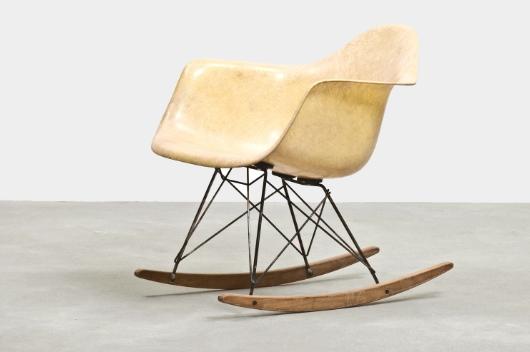 Designer Ray Charles Eames Model Rar Rocking Chair Manufacturer Zenith Herman Miller Year 1948 Glass Chaise A Bascule Chaise A Bascule Eames Chaise