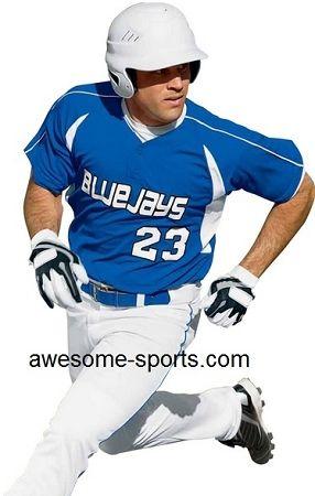 High Five Impact Two Button Baseball Jersey Baseball Jerseys Baseball Pants Baseball
