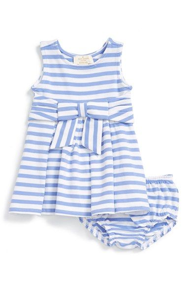 kate spade new york  jillian  stripe sleeveless dress (Baby Girls) available  at  Nordstrom 437c69cb9e1