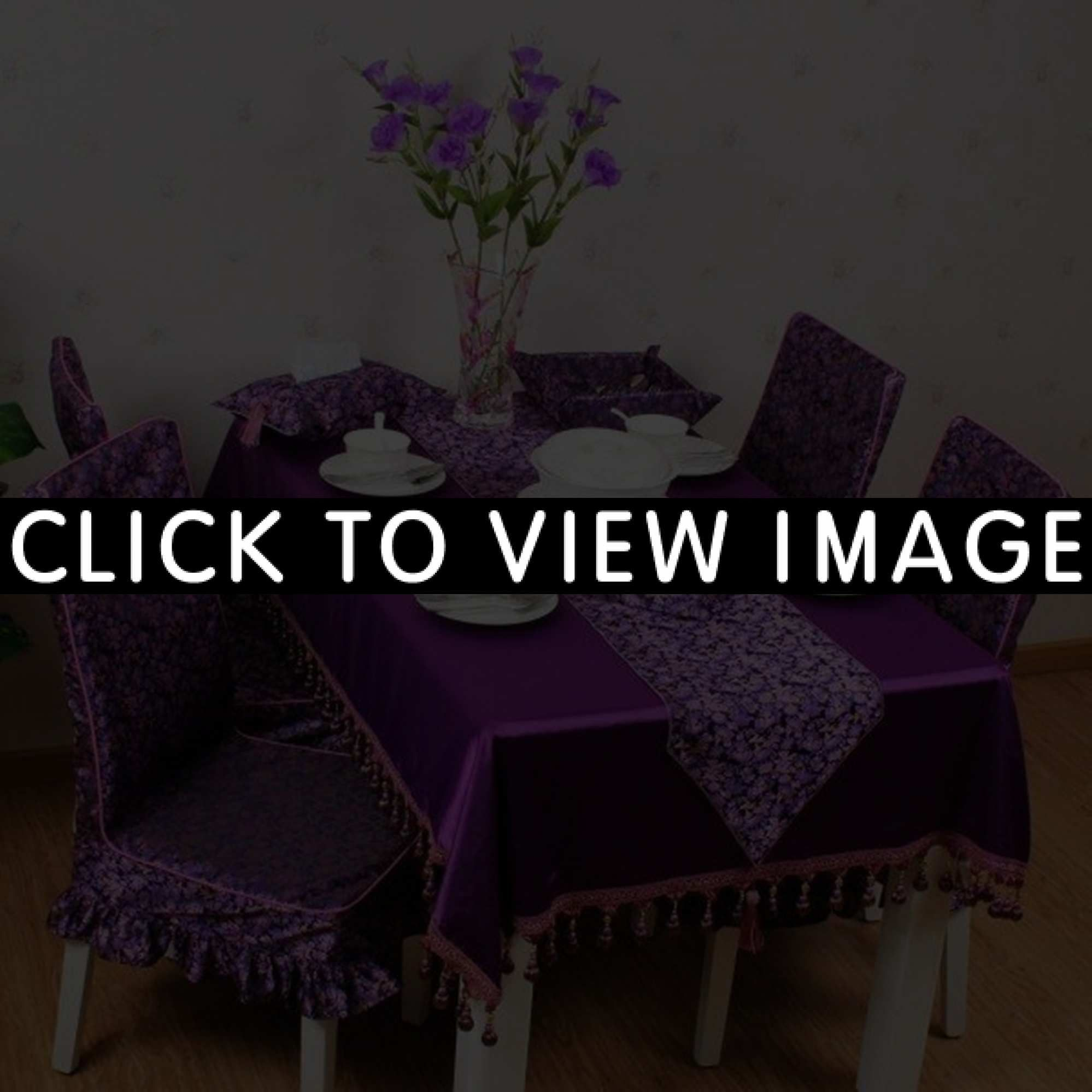 Plum Dining Room Chair Covers