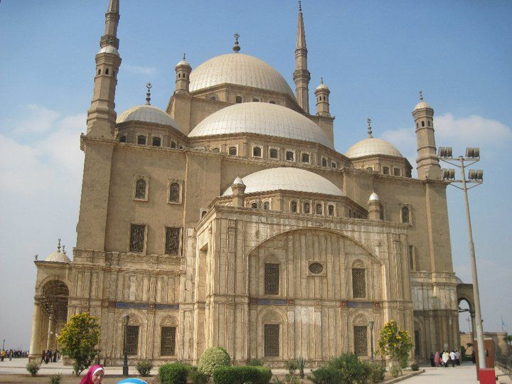castle in Egypt.