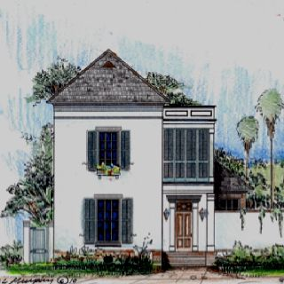 Rendering of lot 138 in the settlement at willow grove for Build on your lot louisiana