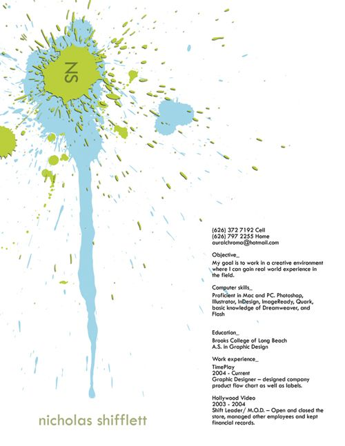 40 Stunningly Creative Resume Designs on DeviantArt Design - beautiful resume designs