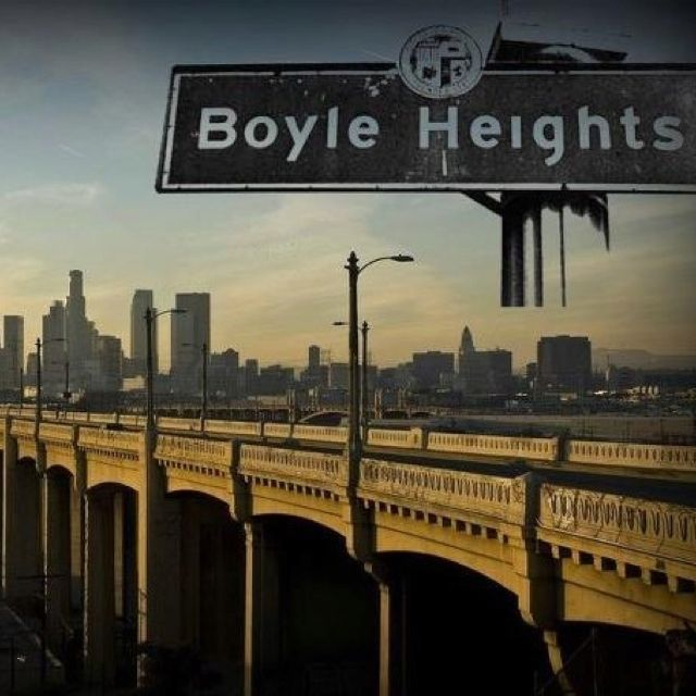 Boyle Heights Bridge To Downtown Los Angeles Oh How I Remember Driving This Bridge It S Used In Sooo Many Boyle Heights East Los Angeles Los Angeles History