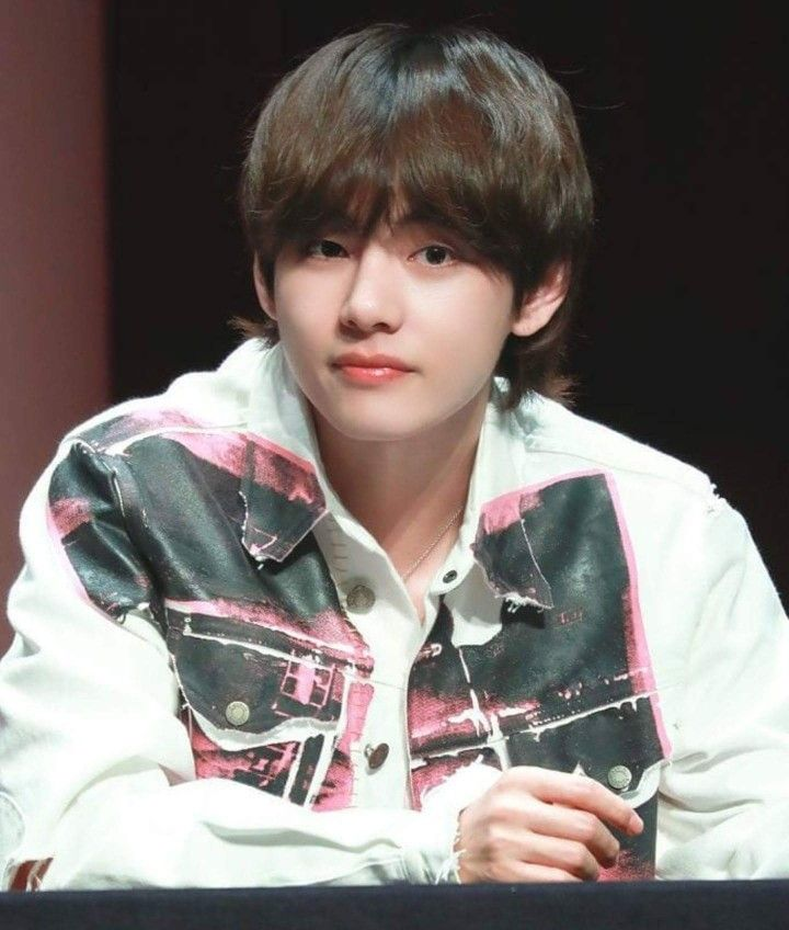 Pin by ℂ𝕙𝕠𝕔𝕠𝕝𝕒𝕥𝕖𝕞𝕦𝕝𝕜 on BTS | Mullet hairstyle, V hair ...