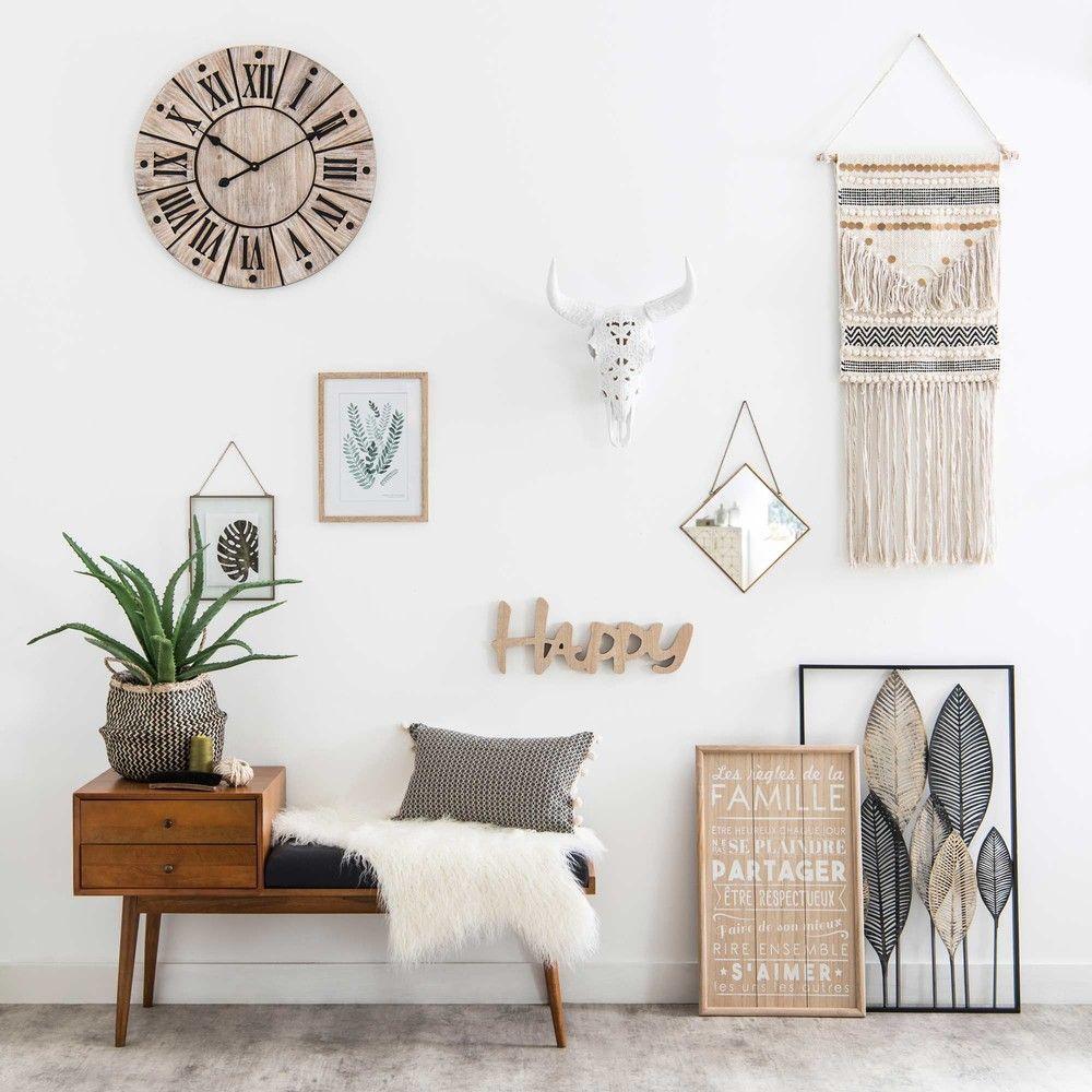 banquette d 39 entr e vintage 2 tiroirs en manguier pinterest maison du monde entr e. Black Bedroom Furniture Sets. Home Design Ideas