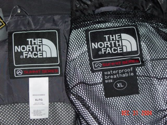 RealFake Head to Head The North Face Guru | The north