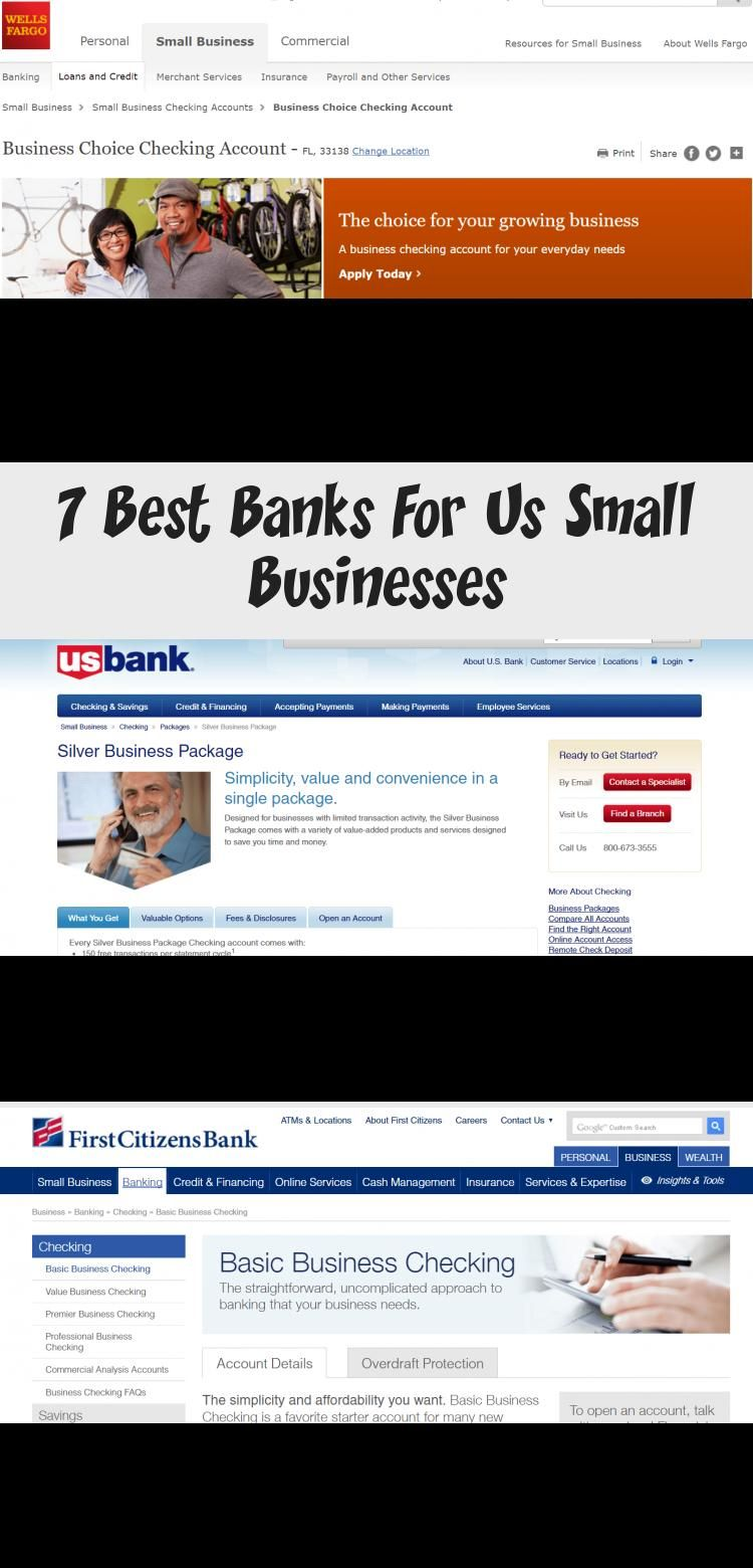 When You Re Starting Up In One Of The Best Small Business Markets In The World You Need To Know Which Bank Accou In 2020 Best Bank Small Business Wells Fargo Business