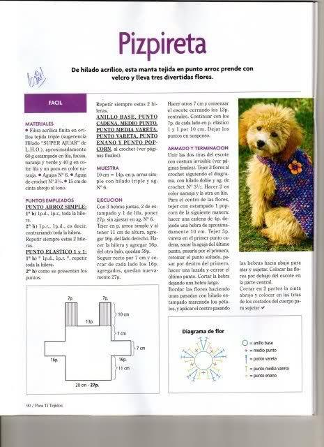 Patrón suéter tejido para perros pequeños - Buscar con Google | ROPA ...