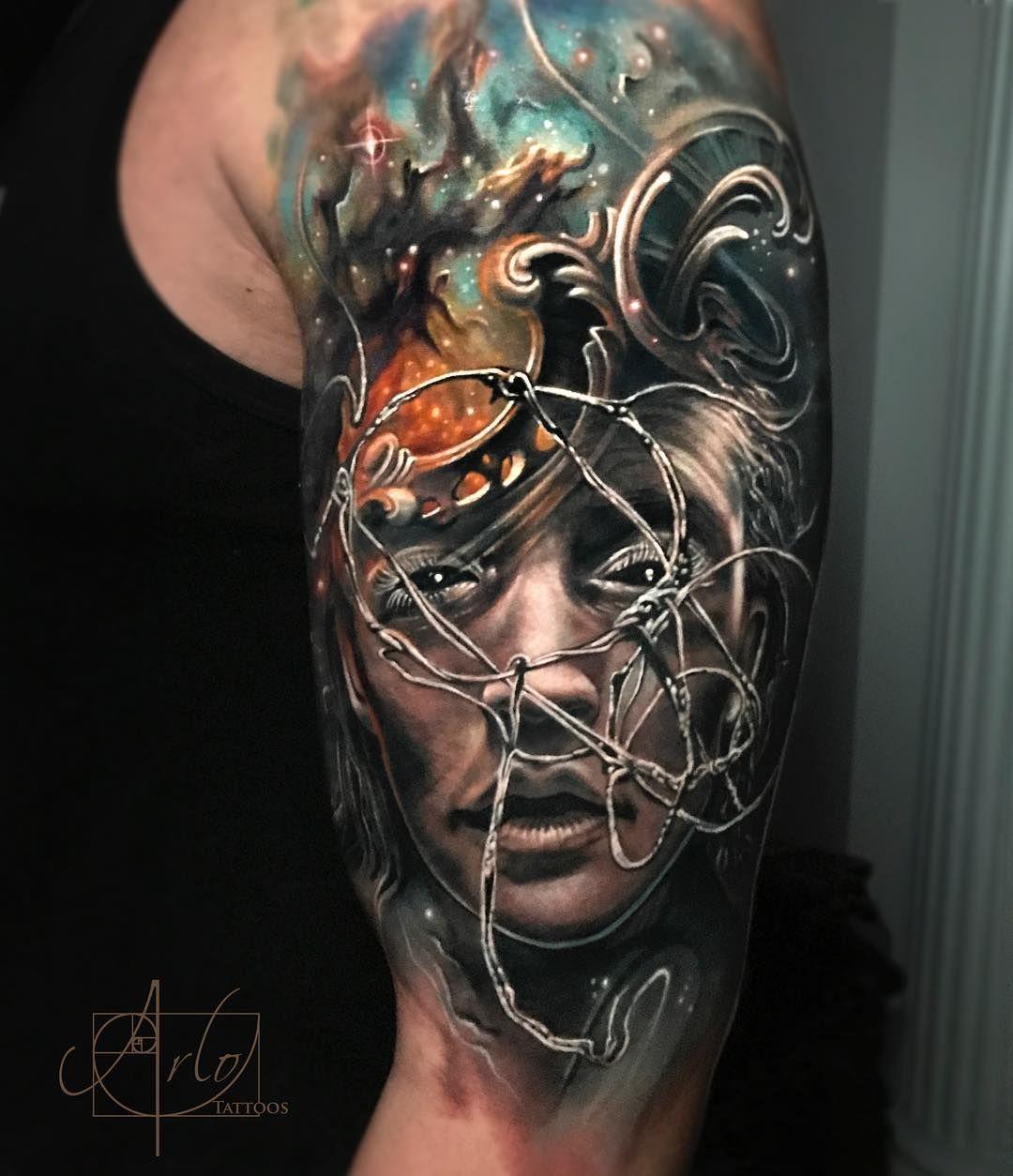 Arlo Dicristina Tattoo Artist: Morphing Tattoo By Arlo DiCristina