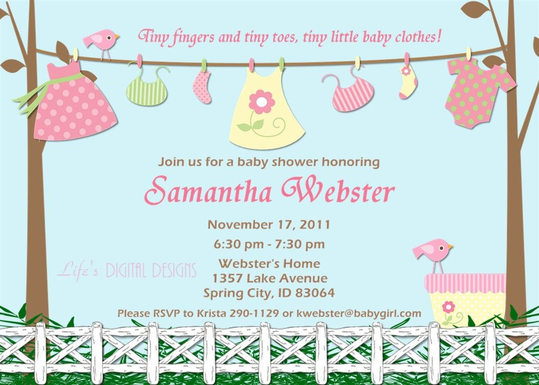 free printable baby shower invitations | Baby Shower Invitations ...