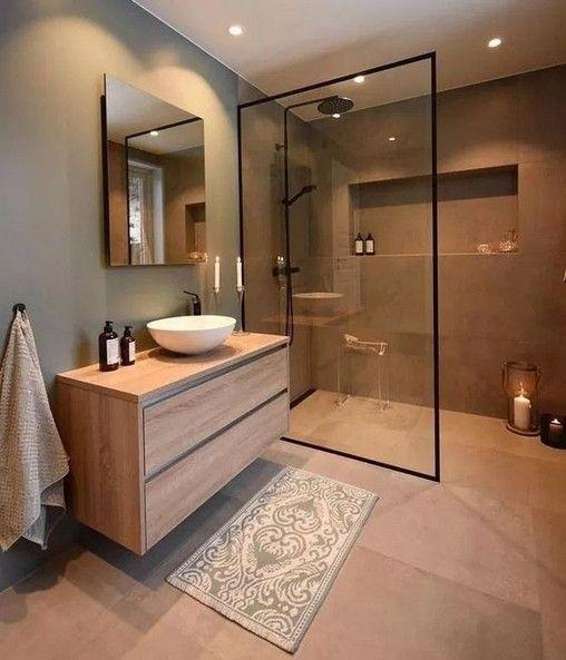 44 Magnificient Scandinavian Bathroom Design Ideas That Looks Cool