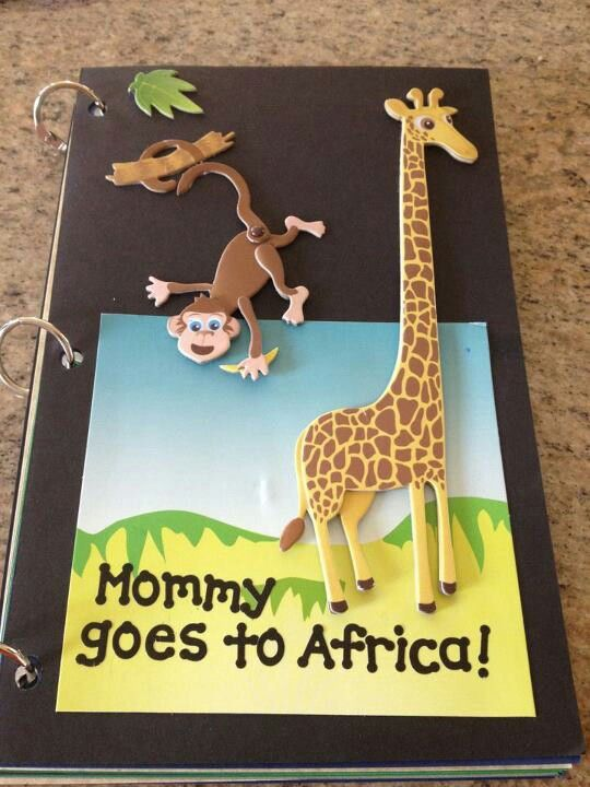 Book for kids when you have to travel