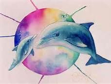 Watercolor Dolphin Tattoos Bing Images Dolphins Tattoo Dolphin Art Ocean Life Tattoos