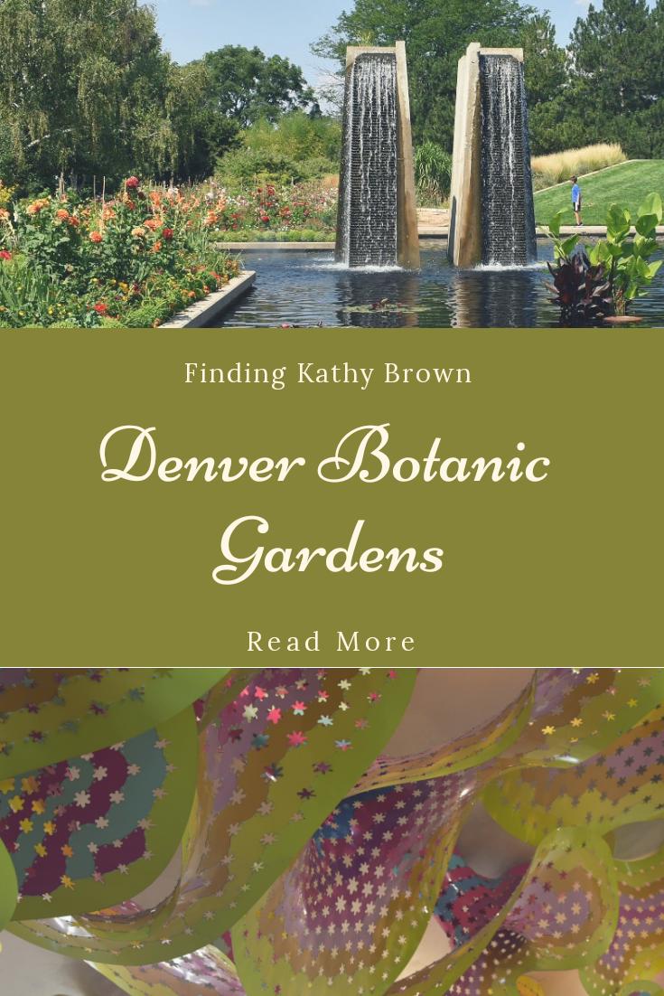 6 Reasons To Visit The Denver Botanic Gardens. #botanicgarden