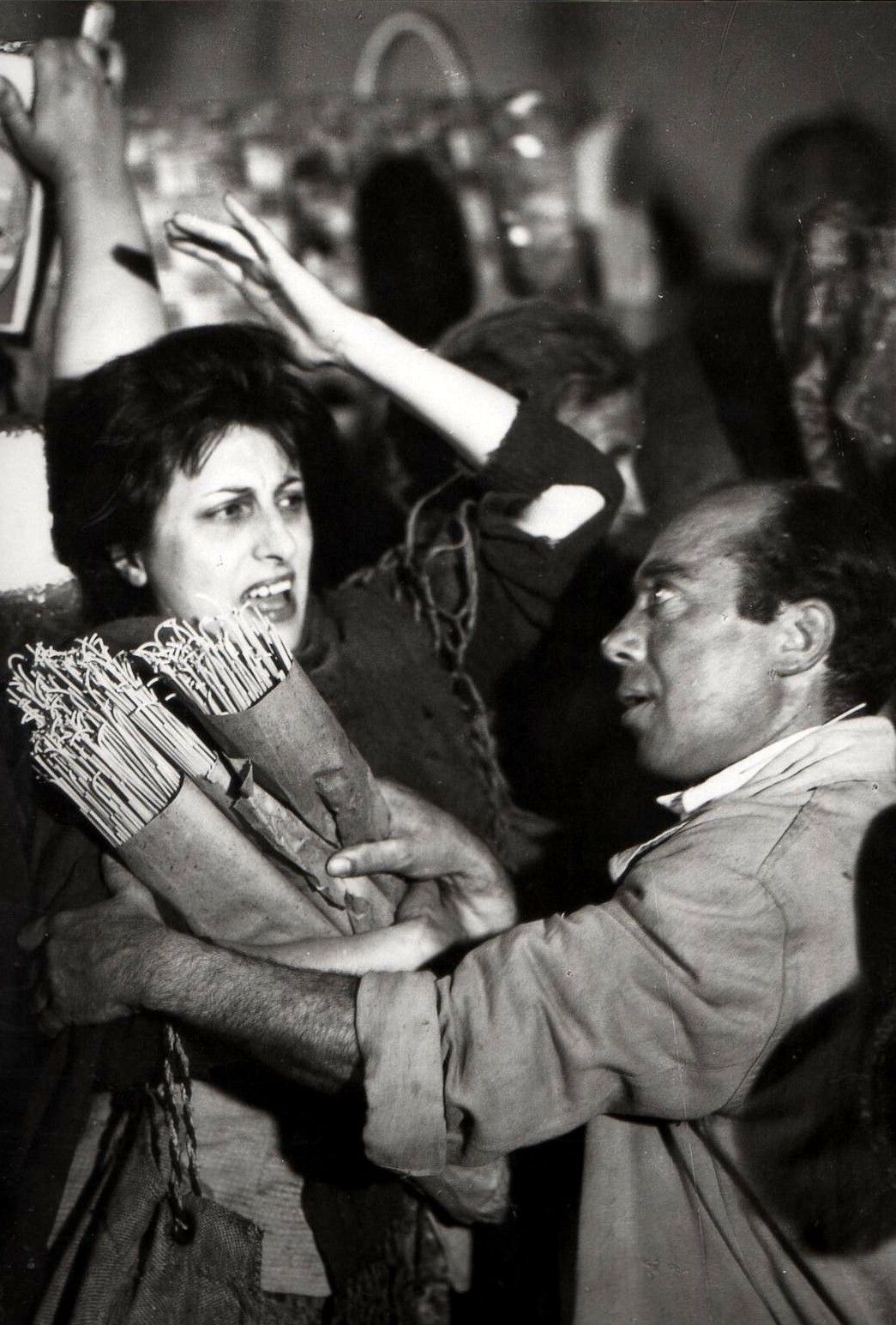 Anna Magnani in L'amore part 1 : Una Voce Umana directed by Roberto Rossellini, 1948