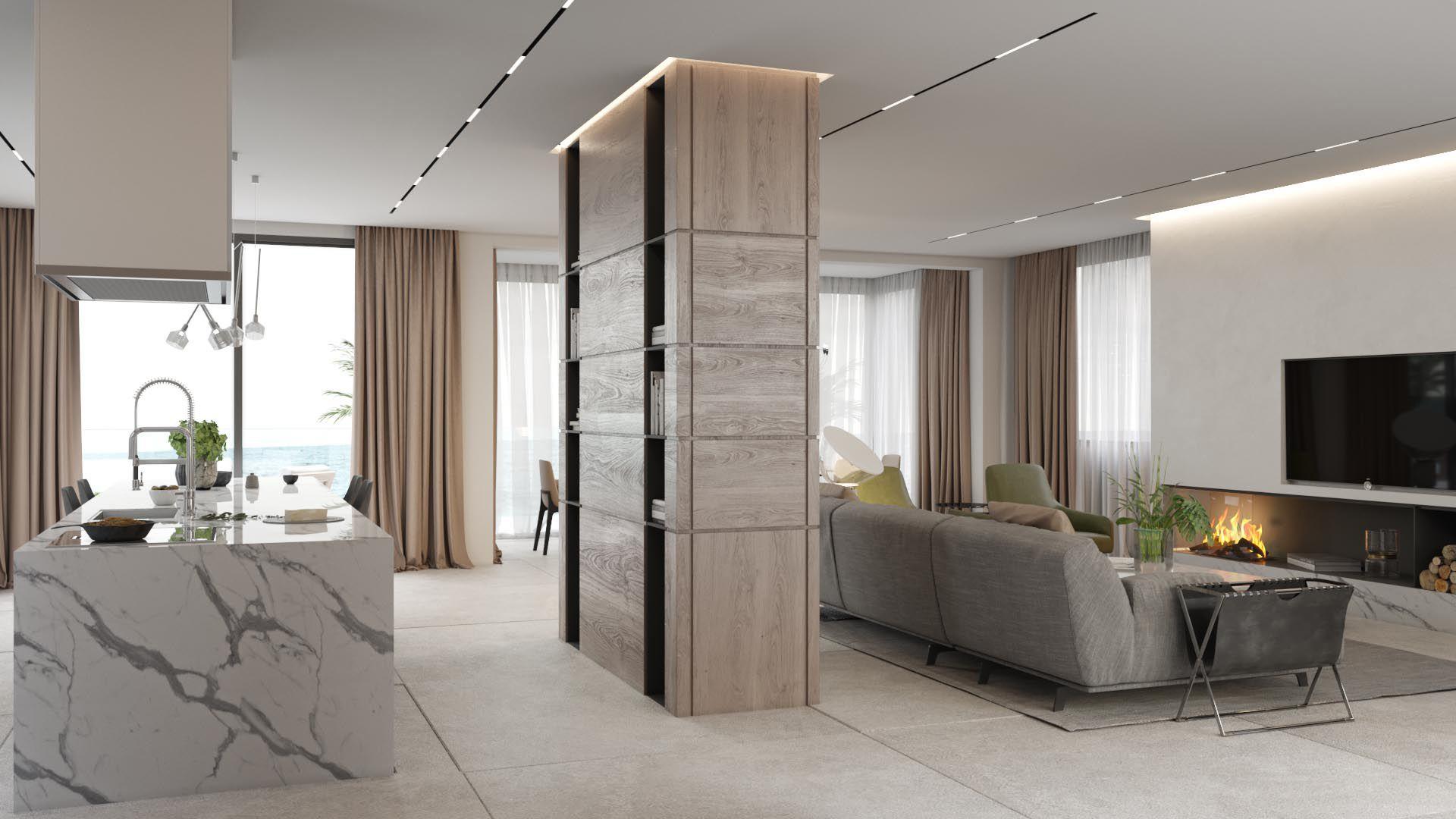 Interior Design Cost For Living Room Impressive Villa On The Sea Cost Iqosa  客厅  Pinterest  Villas Projects Design Inspiration