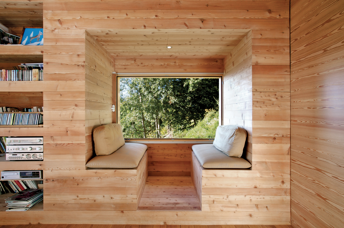 Wooden Cabin designed by Group8 Read more httpwwwdwellcom