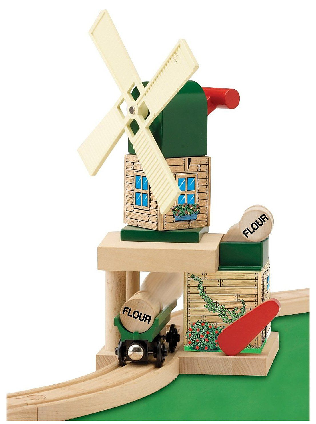 LEARNING CURVE BRANDS THOMAS AND FRIENDS WOODEN RAILWAY - TOBY'S WINDMILL $34.98 | Julian's 2nd ...