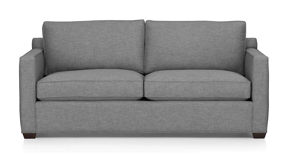 Davis Queen Sleeper Sofa Crate And Barrel Guion S Studio