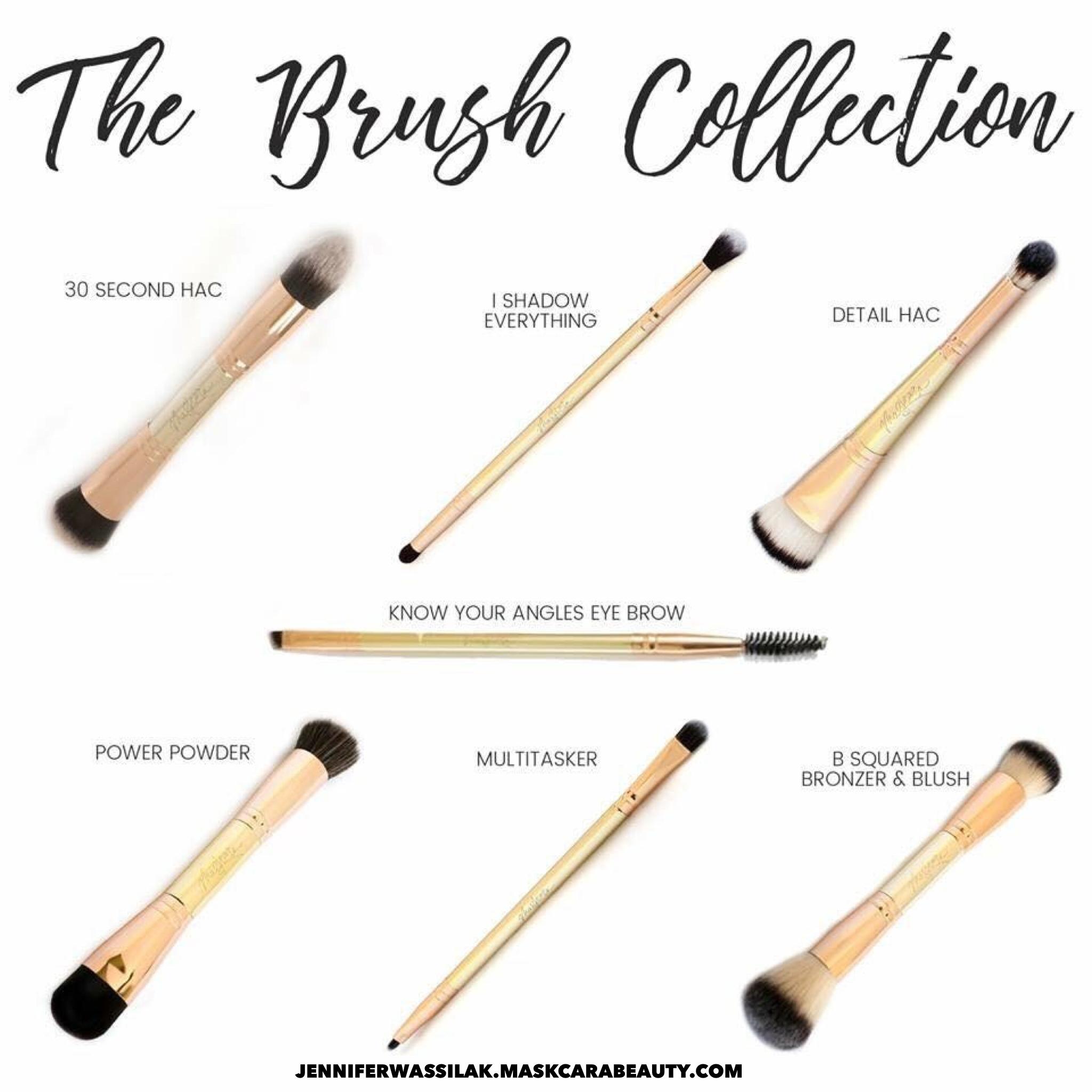 Maskcara Brush Collection Maskcara beauty, Beauty