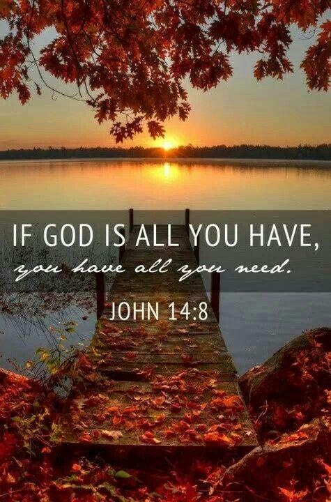 That's what faith can do.