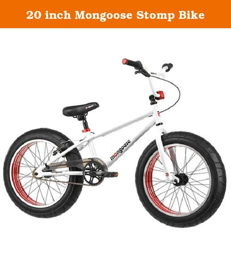20 Inch Mongoose Stomp Bike Boys 20 Inch Mongoose Stomp Bike The 20 Inch Mongoose Stomp Is The Latest And Coolest Thing Happeni Bicycle Cruiser Bike Kids Bike