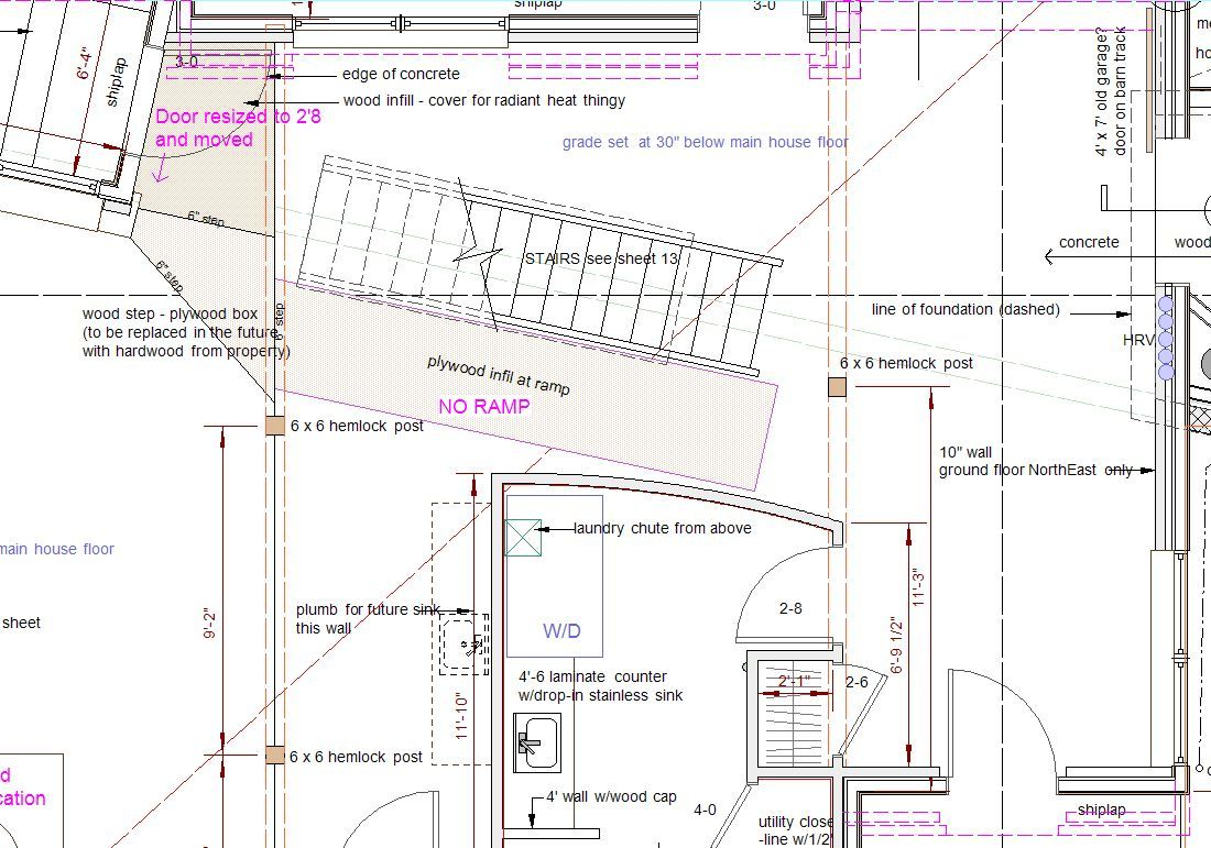 Curved stair floor plan stairs pinned by for Curved staircase floor plans