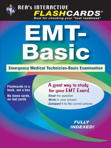 Emt Basic Flashcard Book Emt Test Preparationamazonkindle Store