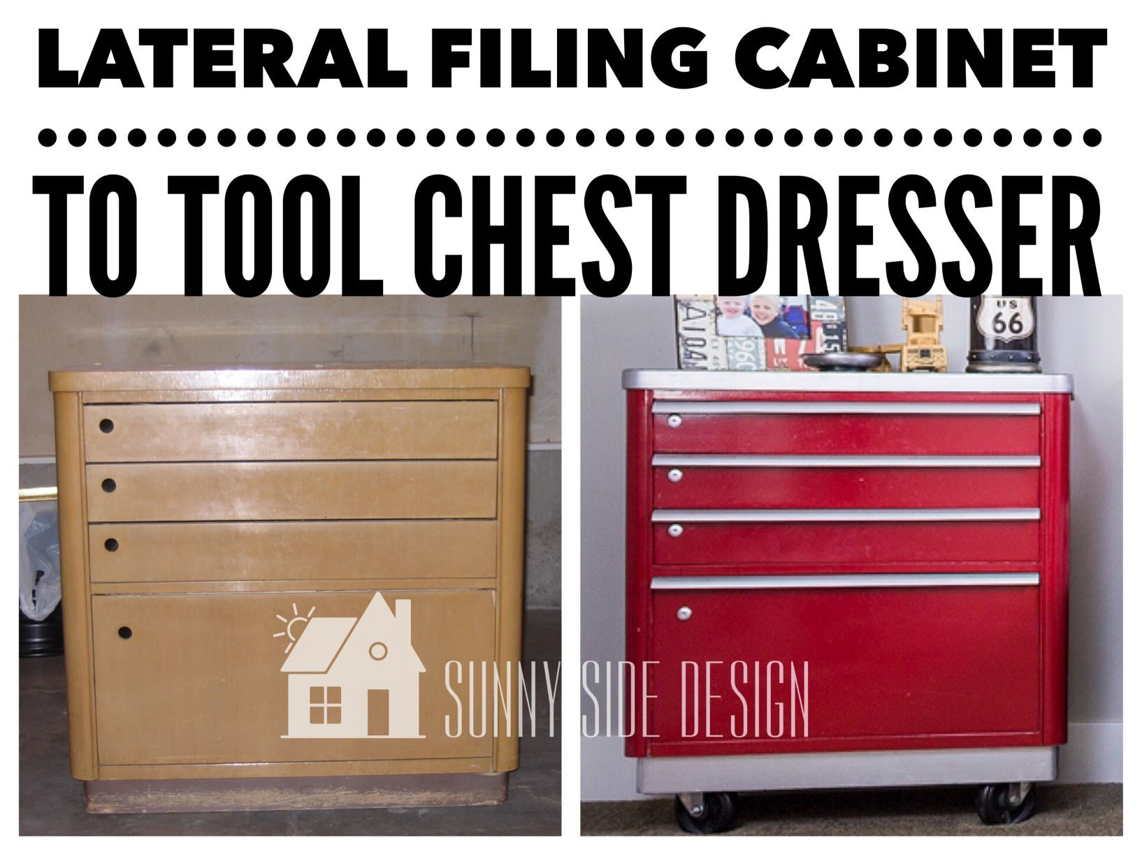 How To Repurpose Thrift Store Furniture Tool Chest Chest