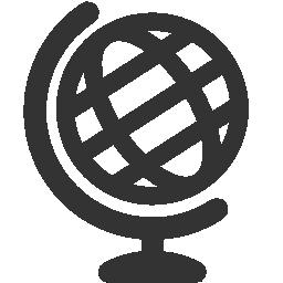 Black White Metro Globe Icon Png 256 256 Globe Logo Globe Icon Icon