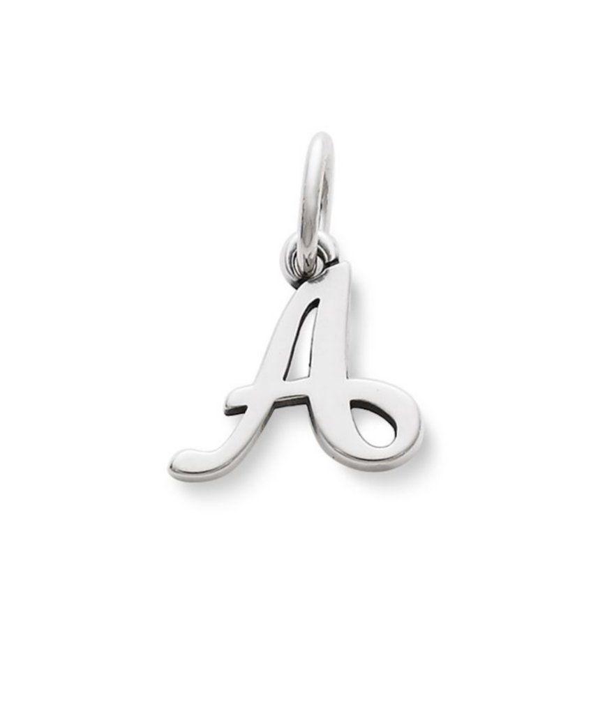 Pandora bracelet dillards - James Avery Script Initial Bracelet Or Necklace Charm