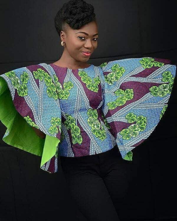 Beautiful African Dress Style, African Wear, Latest