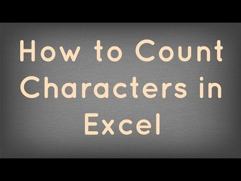 LEN() Function Excel Learn how to count the number of characters in