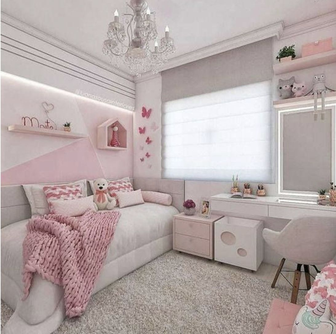 30 Modern Home Decor Ideas: 30 Chic And Modern Ideas For Your Girl Bedroom