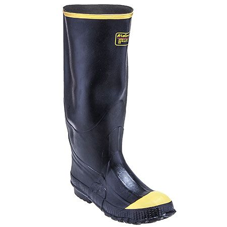 7e93e309781 LaCrosse Boots Men's 00 Steel Toe Waterproof EH Black Premium Knee ...