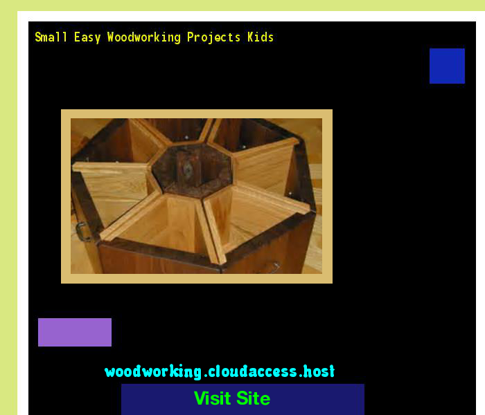Small Easy Woodworking Projects Kids 162010