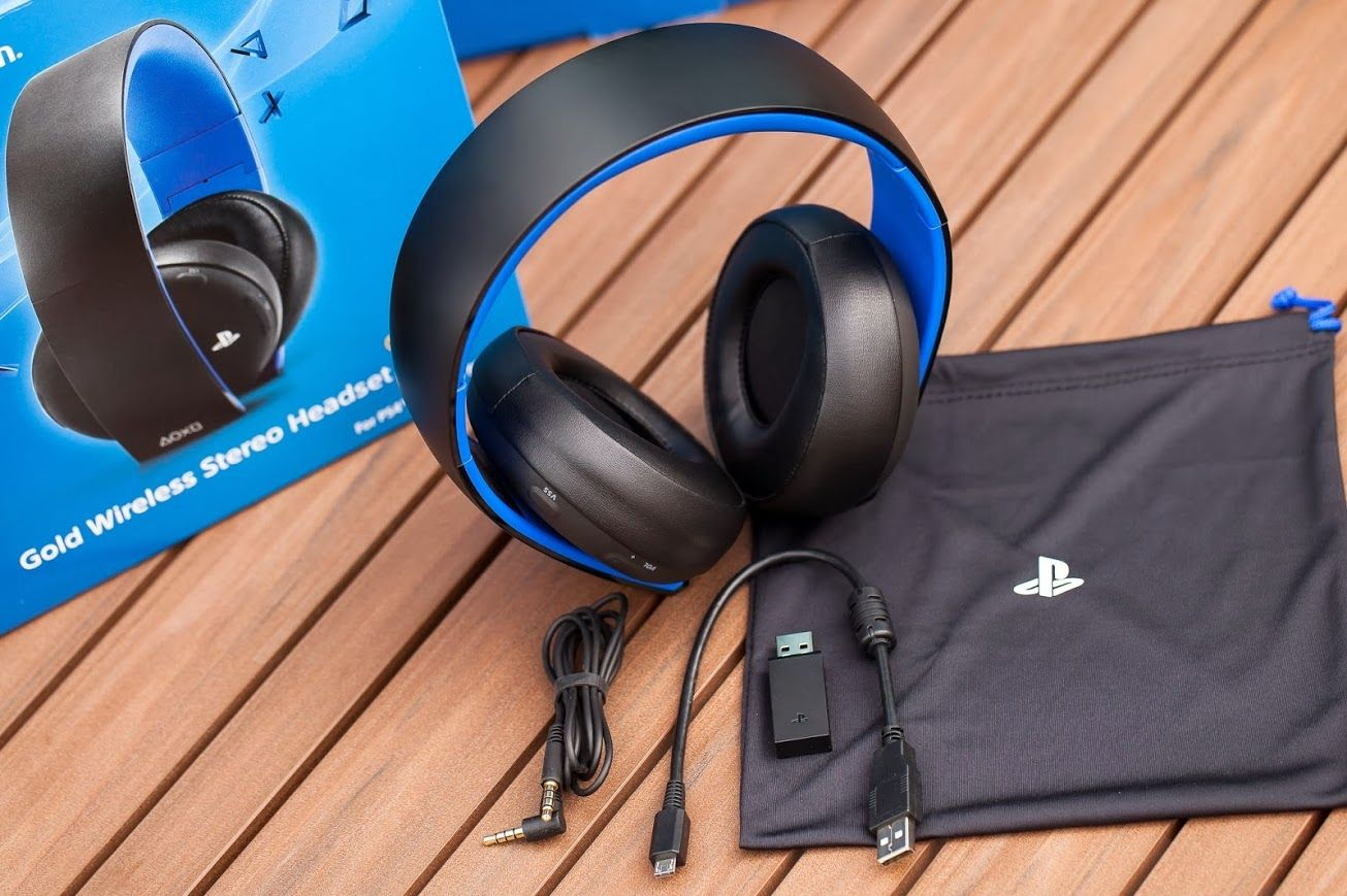 Playstation 4 Gold Wireless Stereo Headset Unboxing Get Ready To Hear Your Next Gen Games Like You Have Ne Wireless Gaming Headset Headset Best Gaming Headset
