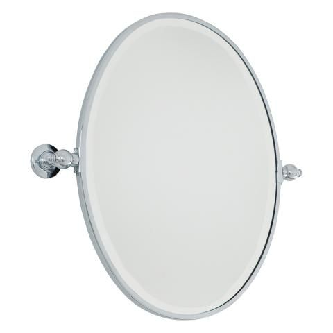 Pivoting Mirrors Oval Mirror Beveled Oval Pivoting Mirror In