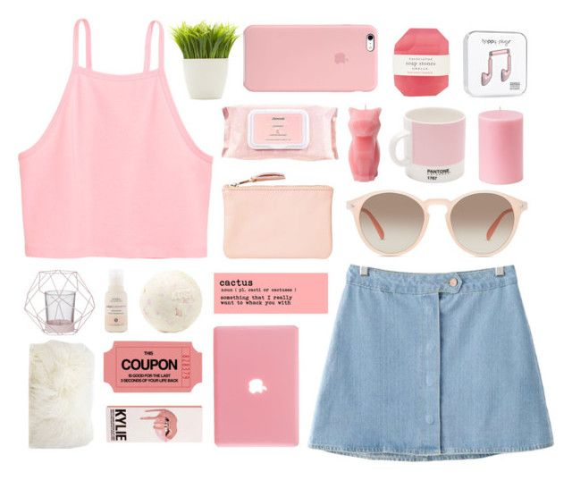 """""""Something always brings me back to you"""" by simply-chicfashion ❤ liked on Polyvore featuring Chicnova Fashion, GlassesUSA, Bloomingville, Monki, Aveda, Dot & Bo, Mamonde, PyroPet, W2 Products and Pelle"""