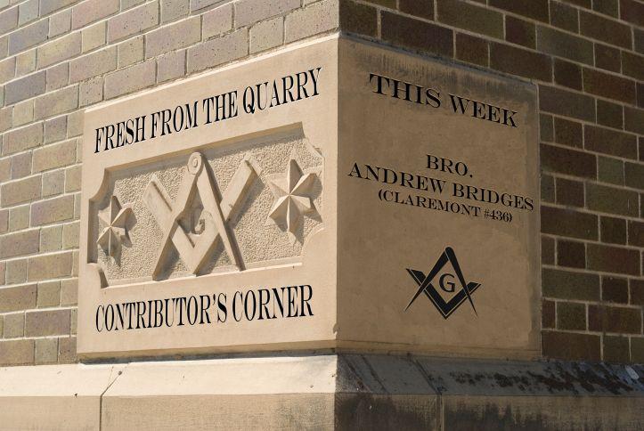 Contributors corner bro andrew bridges freemasonry