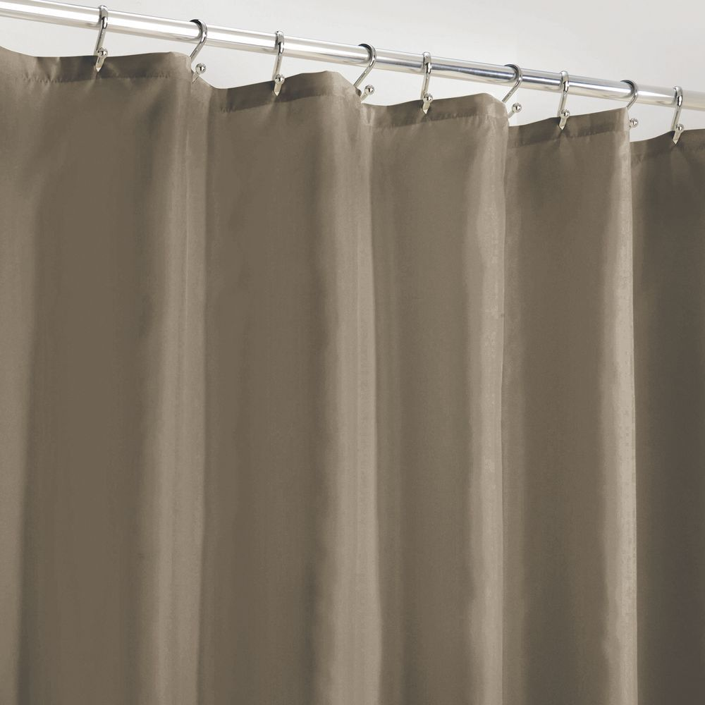 Water Repellent Fabric Shower Curtain Liner 72 X 84 Fabric