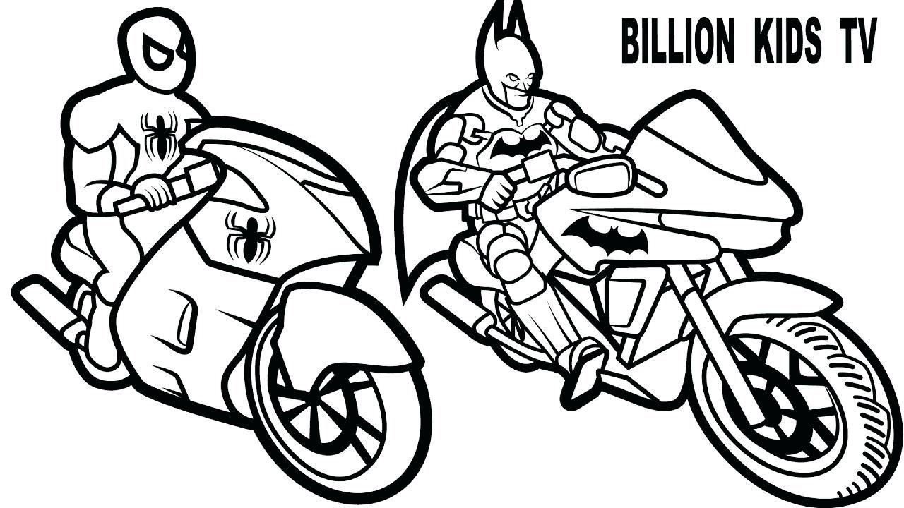 Download or print this amazing coloring page Batman