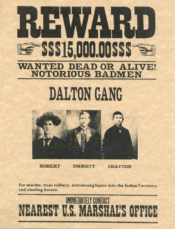 Wanted poster | Old West Wanted Handbills | Pinterest