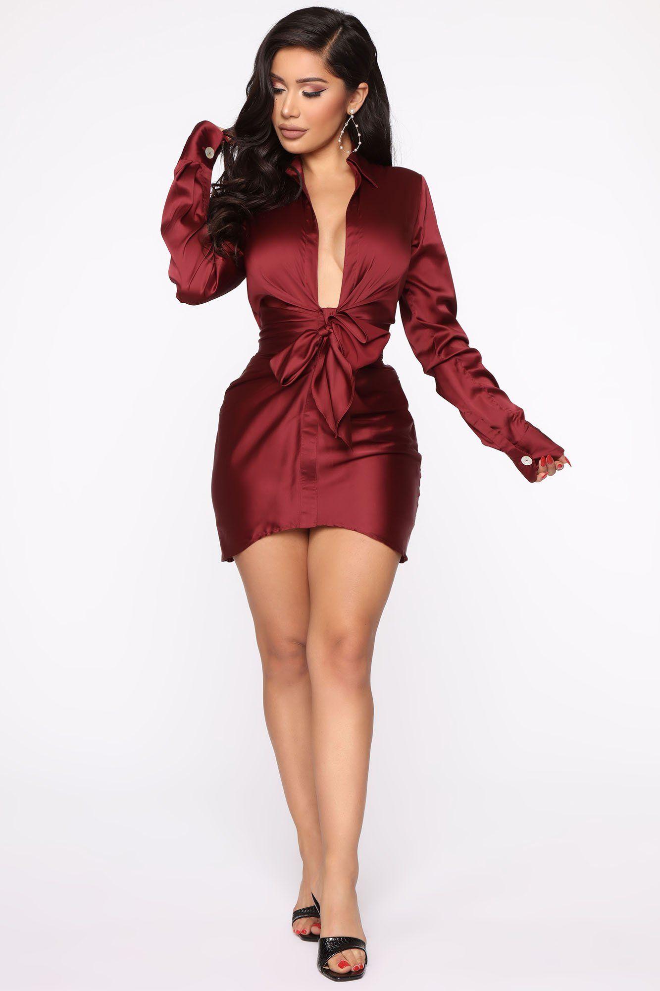 Scandalous Babe Mini Dress Wine Mini dress, Fashion